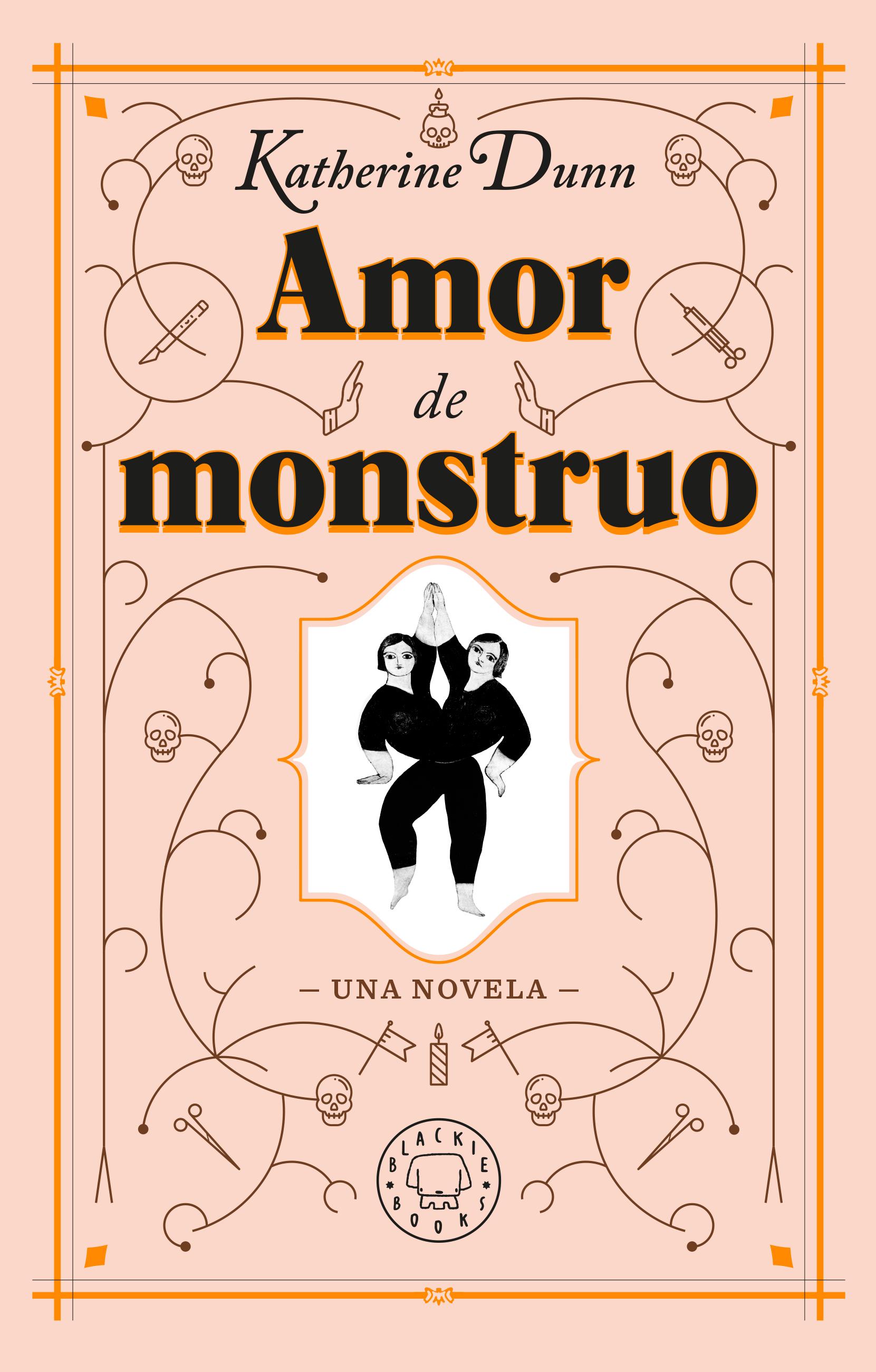 AMOR DE MONSTRUO BLACKIE BOOKS